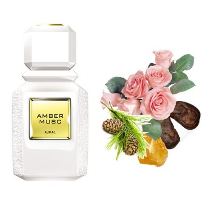 Ajmal Amber Musc Edp 100ml Unisex Tester Parfüm