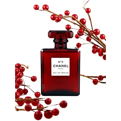 Chanel No.5 L'eau Red Edition Edp 100ml Bayan Tester Parfüm