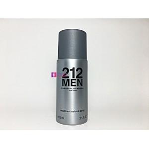 Carolina Herrera 212 Men 150ml Erkek Deodorant